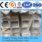 Precio de fábrica Tubo cuadrado de acero inoxidable (201 304 316L 321)