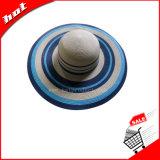 Sombrero de papel, sombrero de paja, sombrero de Sun, sombrero de las mujeres, sombrero flojo