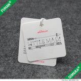 Tag impressos do cair do papel revestido da forma