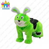 Wheel에 Finego Kiddy Electric Battery Toy Walking Animal Ride