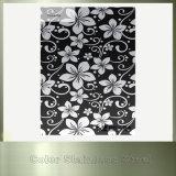 装飾材料のためのミラーの花の印刷のステンレス鋼の版を着色しなさい