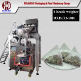 Macchina imballatrice della bustina di tè del triangolo con il pesatore elettrico come il modo di alimentazione (10D)