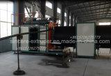 HDPE de Holle Apparatuur van de Pijp van de Drainage van de Muur van de Machines van de Uitdrijving van de Pijp van de Muur Windende Dubbele Spiraalvormige