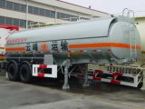 Autocisterna liquida chimica del acciaio al carbonio