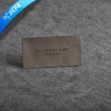 Étiquette tissée par vêtement fait sur commande à haute densité de tissu pour les hommes