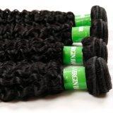 Weefsel van het Haar van de Kleur van de Krul van het Haar van 100% het Maagdelijke Kroezige Natuurlijke