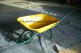 Wheelbarrow do jardim da alta qualidade do revestimento do pó
