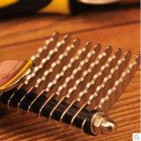 Os pentes de aço do cabelo das agulhas da mão plástica do animal de estimação dirigem o fornecedor, produto do animal de estimação