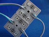 변화 최신 판매 5054 4chips SMD LED 모듈을 착색하십시오