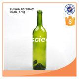 Garrafas De Vidro De Vinho Amber ou Verde 750ml Com Rolhas