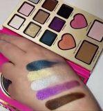 Hecho frente también por el sombreador de ojos de la gama de colores de la sombra de ojo de Nikkie Tutorials 13colors impermeable