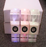Altavoz portable cristalino Std-Cy001 del cubo