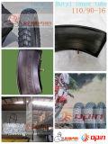 Motorrad Tire und Butyl Inner Tube 110/90-16 Tubeless Tyre