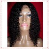 Perucas brasileiras do laço da parte dianteira do cabelo humano do Virgin de Remy