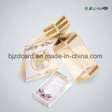 Caixa do empacotamento plástico do PVC de Wonderous para cosméticos