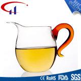 Copo extravagante do vidro de mão para o chá (CHT8614)