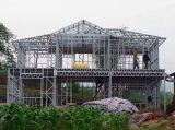 Casas de marco de acero prefabricadas del lujo modular estándar de Australia/chalet