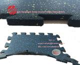 柔らかいゴム製床タイル、身に着け抵抗力があるゴム製タイル、1mのゴム製タイル