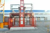 山東のMingwei二重ケージの構築の起重機(SC200/200) -2tons