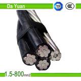 XLPE/PVC kupferner Draht-gepanzertes elektrisches Stahlkabel