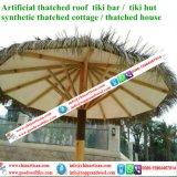 Огнезащитный искусственний синтетический Thatch ладони Thatch Palapa для зонтика пляжа штанги Tiki хаты Tiki