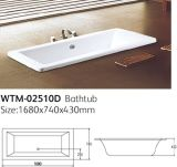 Gota padrão barata em umas banheiras do acrílico de Aclove