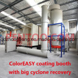 Heißes Sell PVC Magic Quick Color Change Booth für Powder Coating