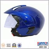 Casco mezzo elegante del motociclo del fronte (OP205)