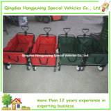Foldable Shopping Wagon Portable Cart 또는 Shopping Cart/Trailer/Trolley/Carriage/Carrier/Stroller/Truck/Kids Cart/Foldable Wagon