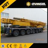 100 guindaste montado Qy100k-I do crescimento da tonelada XCMG caminhão telescópico móvel hidráulico