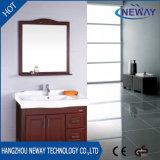 Étage en gros restant le Module de salle de bains en bois avec le miroir