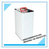 белая стальная жестяная коробка 5liters для масла рефрижерации