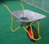 庭の輸送のための単一の車輪のトロリー