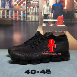 Platino de Vapormax Flyknit del aire del laboratorio del Mens de Nk/zapatos corrientes rojos 40-45yards del amortiguador de aire de la tela