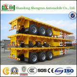 De la Chine de constructeur du chargement 40FT de conteneur remorque à plat semi