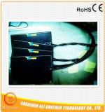 290*580*1.5mm 110V 1200W de Zelfklevende Zwarte Verwarmer van de Printer van het Silicone 3D