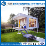 Casa de acero ligera modular prefabricada modificada para requisitos particulares manera