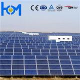 Vetro solare modellato libero fotovoltaico laminato arco per il modulo solare