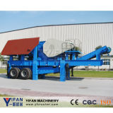 긴 Working Life 및 Good Quality Stationary Crushing Plant