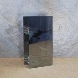 Support votif de lumière de thé de miroir en verre