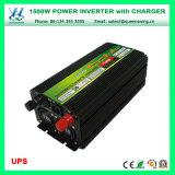 承認されるセリウムRoHSが付いている情報処理機能をもったUPS 1500Wの充電器インバーター(QW-M1500UPS)