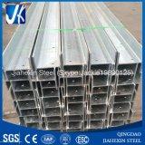 Caliente galvanizado Columna ranurado de acero laminado en H