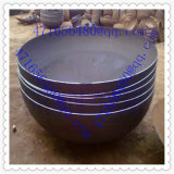 Estremità servita sfera mezza d'acciaio di pressatura calda per il contenitore a pressione