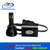 nécessaire de phare de 48W 4800lm 9004/9007 H13 H4 Hi/Lo DEL pour le remplacement léger principal automatique de DEL