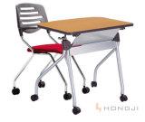 Tabela móvel da tarefa da mesa da escola da tabela do treinamento