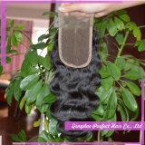 Chiusure poco costose dei capelli della parte della chiusura della parte anteriore del merletto