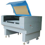 Máquina de grabado del laser del CO2 del CNC para el cuero