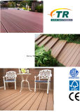 Decking plástico expulso do composto WPC