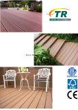 Extruido compuesto plástico WPC terrazas