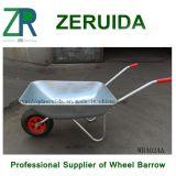 Brouette de roue européenne galvanisée (WB4024A)